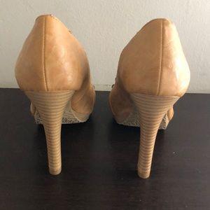 Elle Shoes - PEEP TOE HEELS